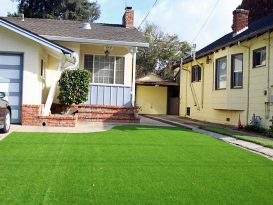 Artificial Turf Installation McDonald, Kansas Landscape Design, Front Yard artificial grass
