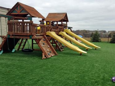 Synthetic Lawn Douglass, Kansas Backyard Playground, Commercial Landscape artificial grass